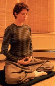Meditación sentada