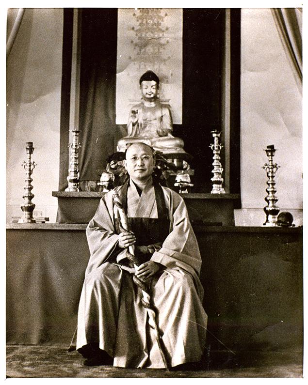 Young Zen Master Seung Sahn